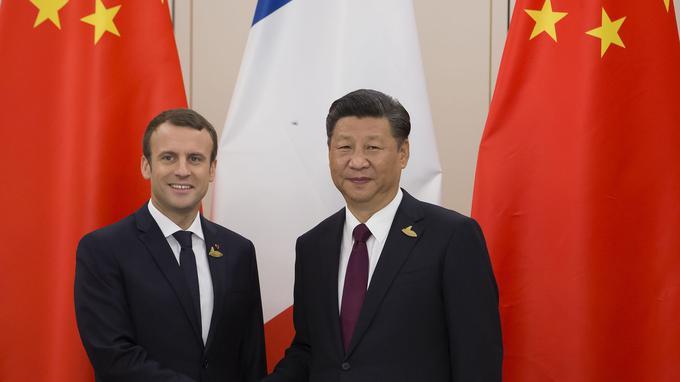 Macron Ping