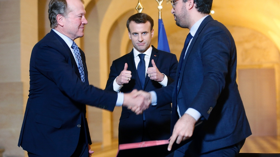Macron investissements